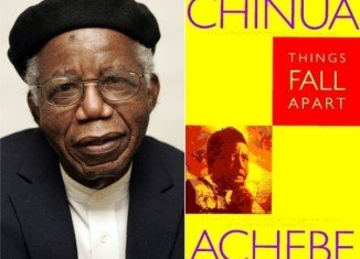 Chinua Achebe's 1958 debut novel Things Fall Apart, which dealt with the impact of colonialism in Africa, has sold more than 10 million copies