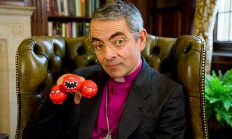 Comic Relief sketch featuring Rowan Atkinson as the Archbishop of Canterbury has drawn more than 2200 complaints photo