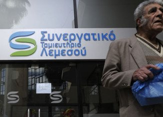 Cyprus bank deposits over 100,000 euros could be cut by 40 percent