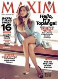 Danielle Fishel posed provocatively in little more than a bra and underwear on the cover of Maxim's April issue