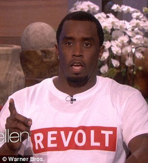 Diddy has admitted to wetting the bed as a child and blamed the issue on not drinking enough water instead guzzling fizzy drinks and excessively consuming sugar photo