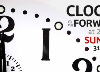 Don't forget to set your clocks forward by one hour on Sunday 31st March 2013