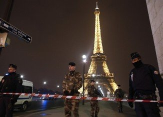 Eiffel Tower has been evacuated following an anonymous phone-call threatening an attack