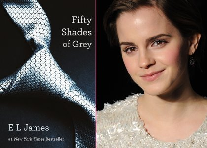 Emma Watson has ruled out of playing the role of Anastasia Steele in the film version of Fifty Shades of Grey