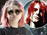 Frances Bean Cobain stepped out in LA last week looking just like late father Kurt Cobain photo