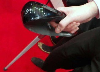 Fujitsu Next Generation Cane is designed to help elderly people find their way, as well as monitor things such as heart rate and temperature