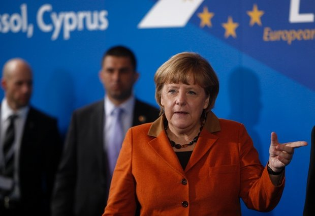 German Chancellor Angela Merkel warned Cyprus not to exhaust the patience of its eurozone partners photo