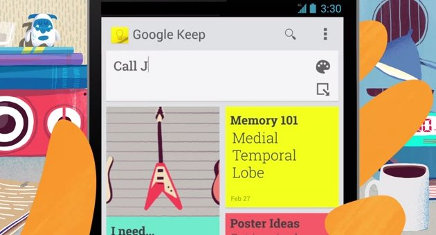 Google Keep allows users to keep checklists and voice notes, and annotate photos