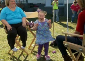 Honey Boo Boo and her family have offered their own version of the Harlem Shake during a Good Morning America interview which aired last Friday