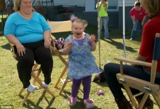 Honey Boo Boo and her family have offered their own version of the Harlem Shake during a Good Morning America interview which aired last Friday photo