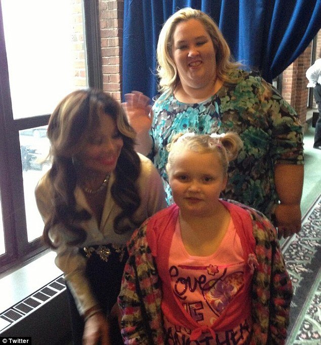 Honey Boo Boo and her mother June Shannon bumped into celebrity fan La Toya Jackson recently who couldn't help but rave about her love of the child photo