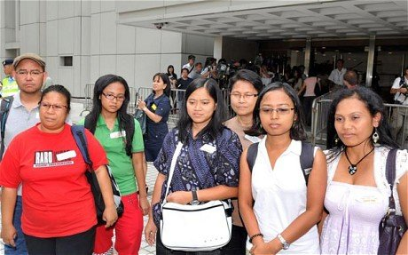 Hong Kongs Court of Final Appeal has ruled that domestic workers are not eligible to apply for permanent residency photo