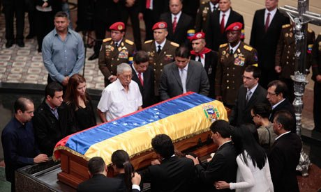 Hugo Chavez's body has been laid to rest at a military museum in Caracas photo
