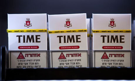 Israeli Jews craving a smoke during the week-long Passover holiday that starts at sundown Monday can now enjoy a rabbi-approved cigarette