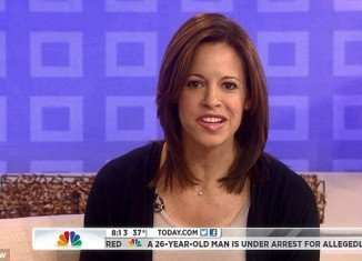 Jenna Wolfe revealed this morning she is engaged and expecting a baby with Stephanie Gosk, an NBC News correspondent