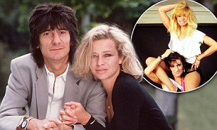 Jo Wood now 57 was famously married to Rolling Stone Ronnie Wood for 26 years  photo