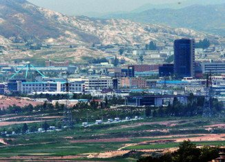 Kaesong Industrial Complex at the North-South Korea border is still operating despite Pyongyang cutting a military hotline with South Korea