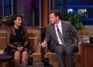 Kim Kardashian appeared on The Tonight Show, where she was grilled by Jay Leno about the ups and downs of her first pregnancy and what kind of dreams she has for her unborn baby