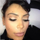 Kim Kardashian appears to be carrying on painful extremes trend, this time with acupuncture