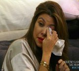 Kourtney Kardashian in tears after Scott Disick picks on her for weighing 115 lbs after Penelope's birth