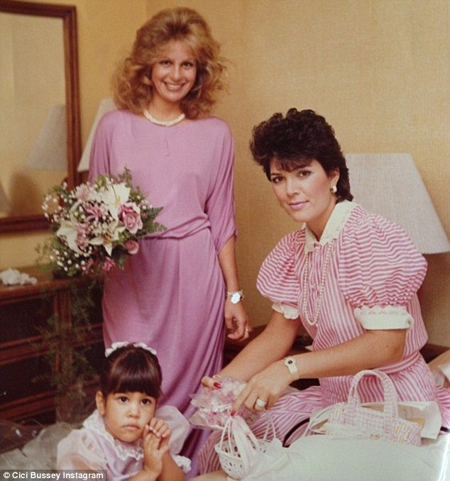 Kris Jenner appears to remain remarkably unchanged in a 30 year old family photo shared by her cousin Cici Bussey on Twitter photo