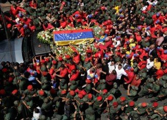 Leaders from Latin America and beyond are gathering in Caracas for the state funeral of Venezuela's President Hugo Chavez