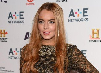 Lindsay Lohan allegedly took a bracelet, a necklace, earrings, trousers and shoes from Anger Management set