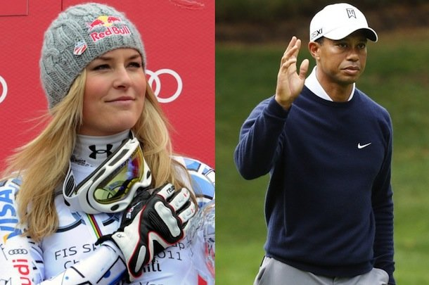 Lindsey Vonn avoided run in with Elin Nordegren sitting in Tiger Woods' car for an hour