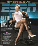 Lindsey Vonn channels Sharon Stone as Catherine Tramell in Basic Instinct on a recently unearthed cover of ESPN magazine