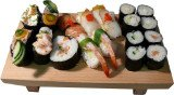 Many of us believe eating sushi is a good way to get the recommended two portions of fish each week, but most of the products on the market contain very little protein