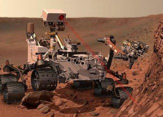 Mars Curiosity rover has drilled into a rock that contains clay minerals, an indication of formation in, or substantial alteration by, neutral water