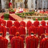 More than 100 cardinals of the Roman Catholic Church have gathered to Vatican for a new pope election