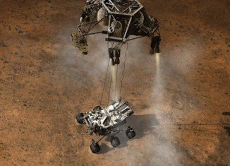 NASA's Curiosity robot, which is analyzing rock samples on Mars, is now running from a back-up computer