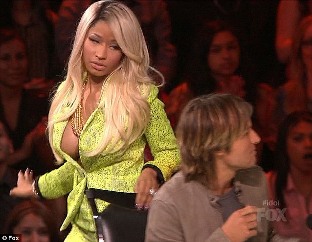 Nicki Minaj was furious to learn that her favorite American Idol contestant Curtis Finch Jr. had landed in the bottom two of the Top 10 photo