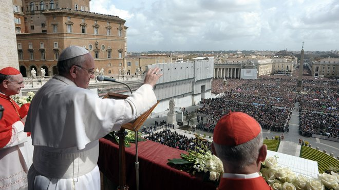 Pope Francis has delivered his first Easter Sunday message since being elected with a passionate plea for peace