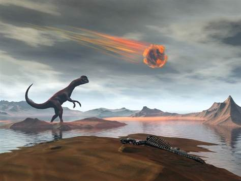 Researchers have found that the space rock that hit Earth 65 million years ago and was widely implicated in the end of the dinosaurs was likely a speeding comet photo