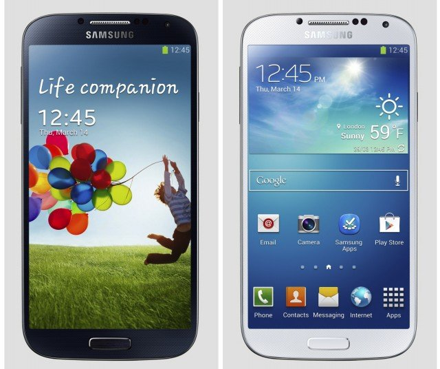 Samsung Galaxy S4 which crams a 5 inch 1080p screen into body slightly smaller than the S IIIs will go sale globally in the April to June period 640x536 photo
