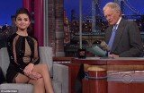 Selena Gomez tried to remain graceful and modest as she did an interview on the Late Show With David Letterman on Monday, however couldn't help but made a slight jab at Justin Bieber