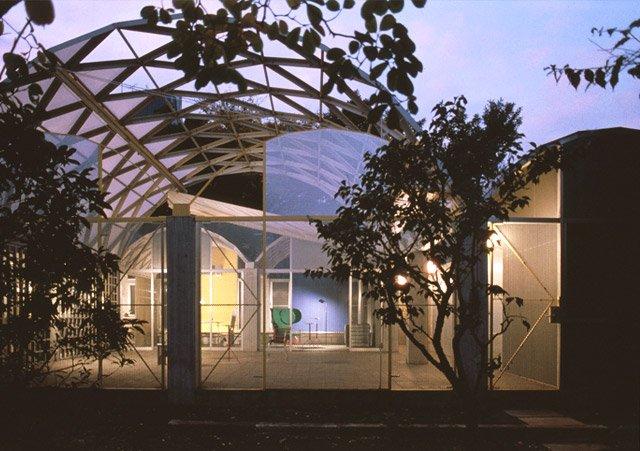 Silver Hut (house) by Toyo Ito, Nakano-ku, Tokyo, Japan, 1984