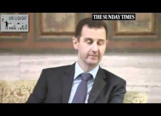 Syria's President Bashar al-Assad has accused the UK government of bullying and naivety in its approach to the conflict in his country