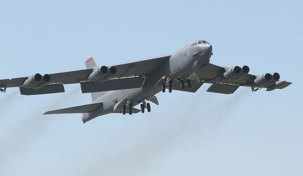 The US is flying nuclear-capable B-52 bombers over South Korea, in what it says is a response to escalating North Korean rhetoric