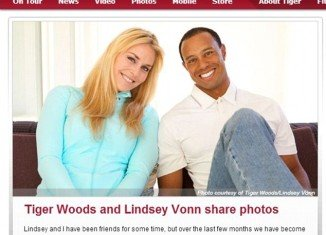 Tiger Woods and Lindsey Vonn have finally confirmed the rumors they are in a romance