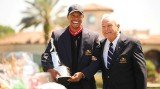 Tiger Woods has won the Arnold Palmer Invitational at Bay Hill by two strokes returning to the top of the world rankings for the first time since October 2010