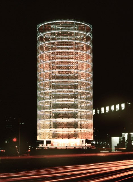 Tower of Winds by Toyo Ito, Yokohama-shi, Kanagawa, Japan, 1986 Photo by Tomio Ohashi