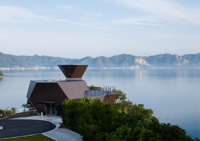 Toyo Ito Museum of Architecture, Imabari-shi, Ehime, Japan, 2011  Photo by Daici Ano.
