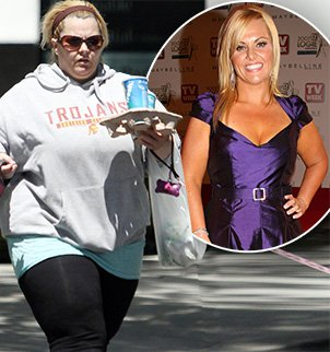 Ajay Rochester former host of Australias Biggest Loser has revealed she has gained a staggering 105 lbs photo