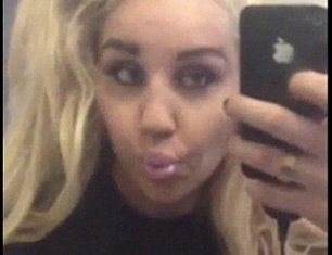 Amanda Bynes posted a video of herself in the bathroom getting ready for a New York party