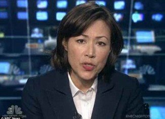 Ann Curry debuted a new, shorter hairstyle on NBC News on Friday without informing the networks executives