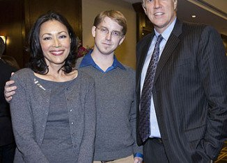 Ann Curry is married to Brian Ross, whom she met in college