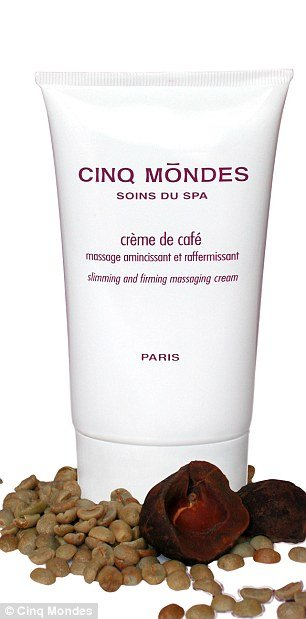 Cinq Mondes Slimming Coffee Cream is made from coffee beans and promises to banish cellulite by breaking down fat and draining away toxins